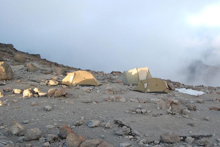 Lemosho Route camp
