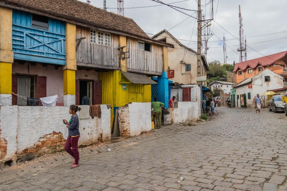 Uptown Antananarivo  by Daniel De Lapelin Dumont