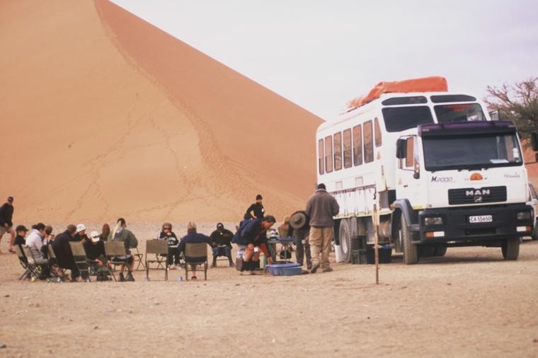 Safari Truck in Namibia