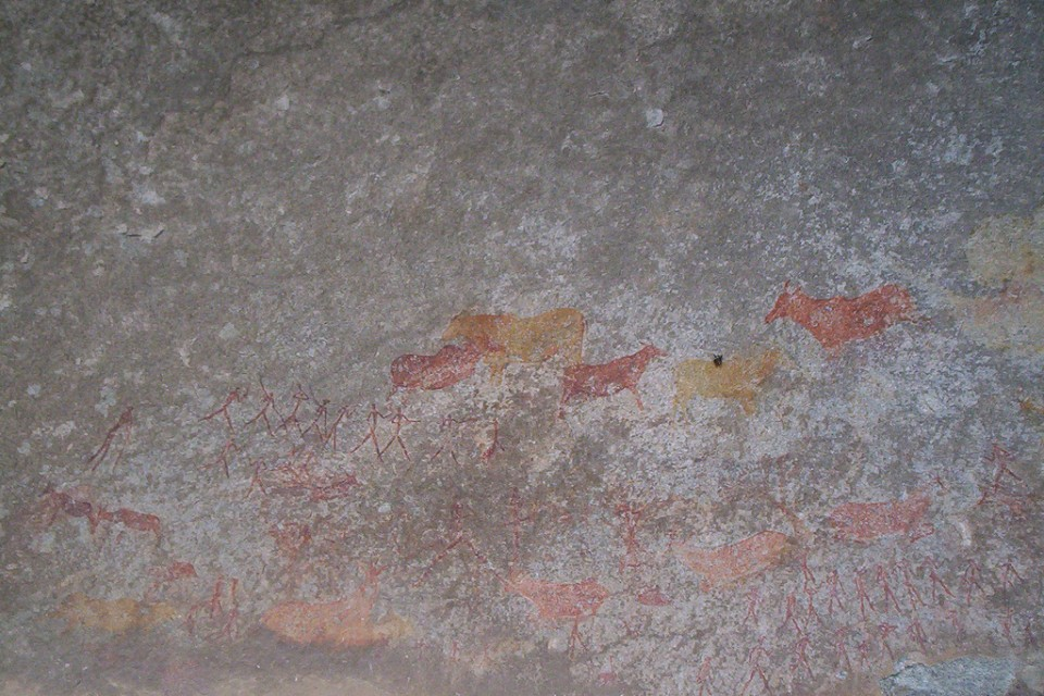 Rock Art in Matobo National Park  by Katie Hunt