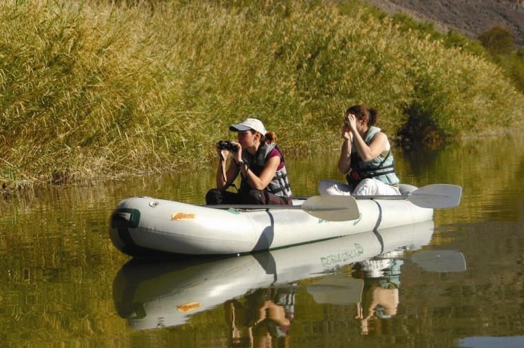 Orange River canoeing image