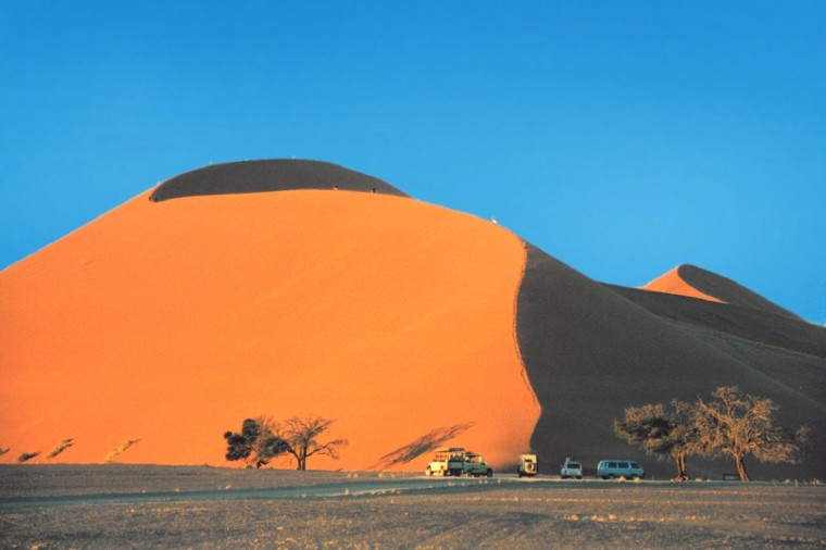 Sossusvlei Dune in Namib image