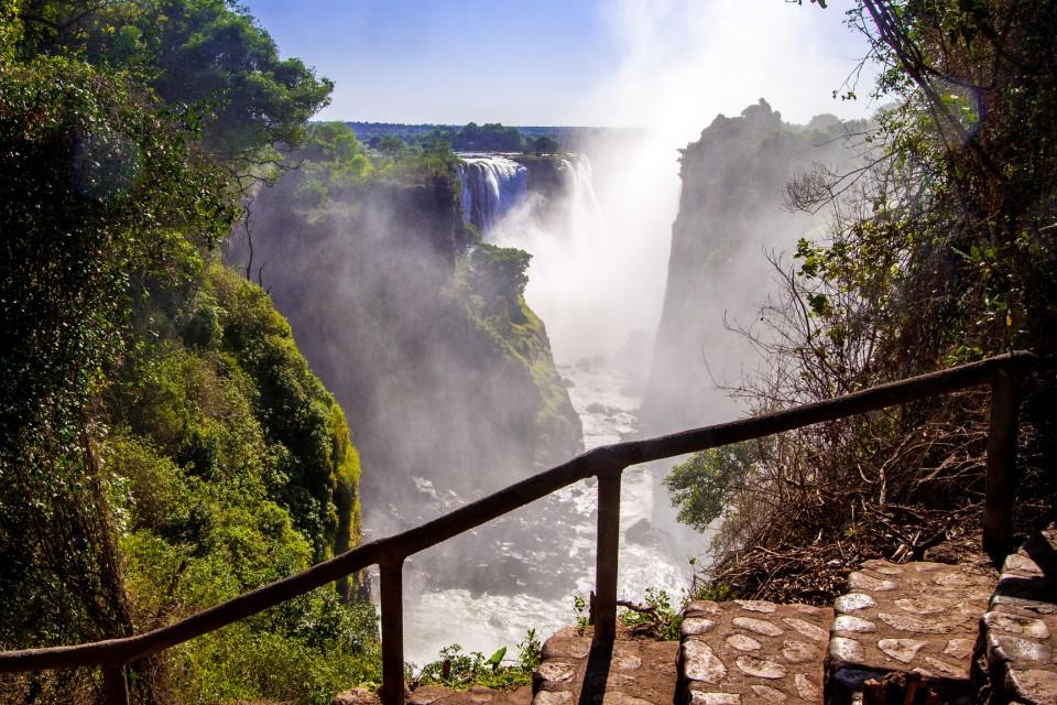 Victoria Falls  by Meraj Chhaya