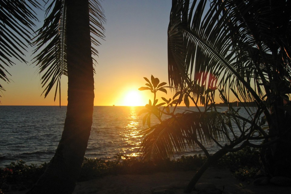 Madagascar sunset