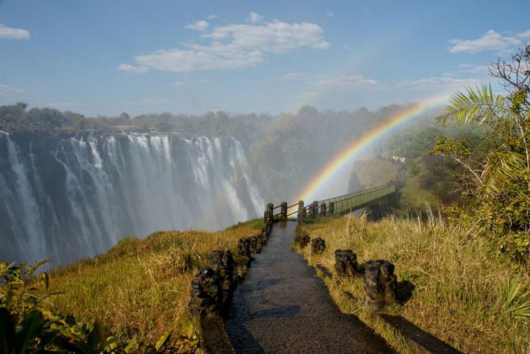 Zambian Victoria Falls view