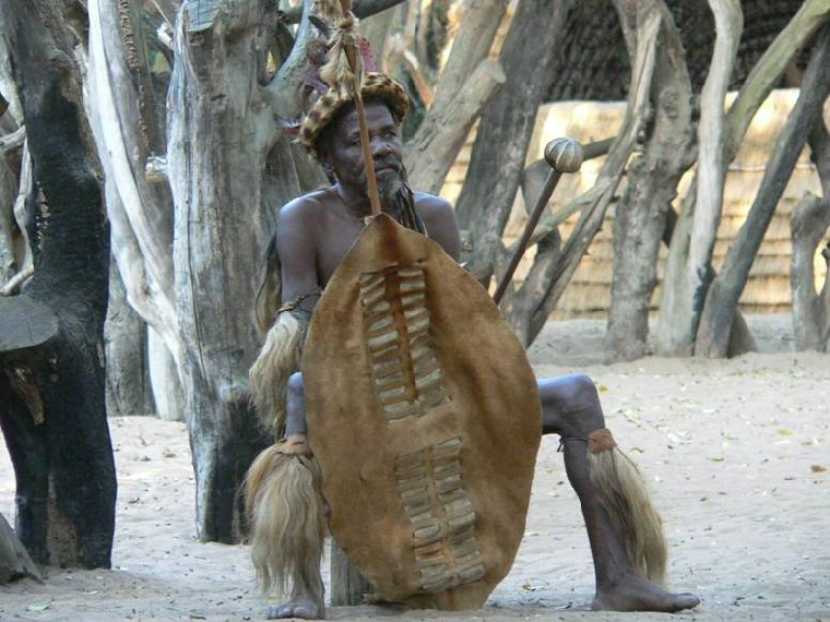 Zulu in Traditional Dress