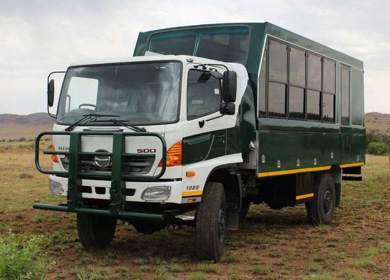 Uganda safari truck