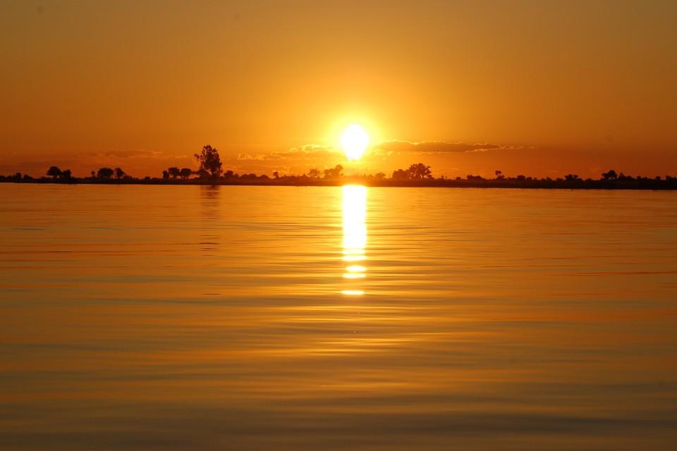 Chobe sunset  by Joachim Huber