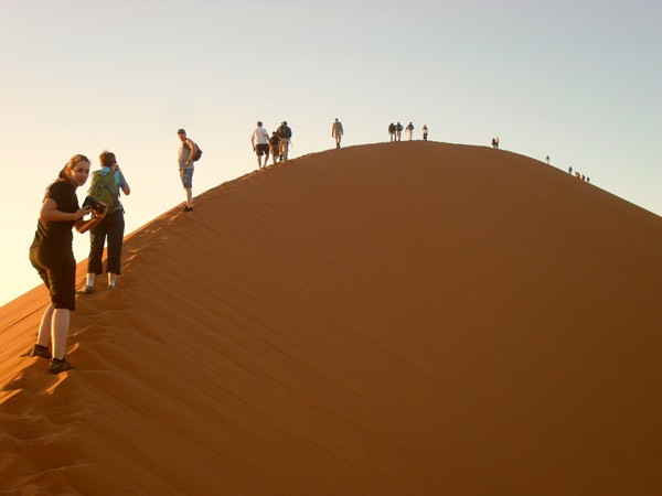 Great trek adventure day 8   namib desert walks