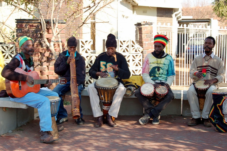 Soweto street music  by jit bag