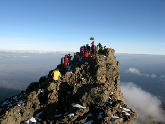 Mount Meru Summit