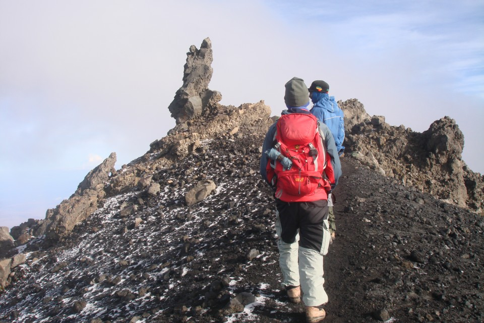 Meru trekking