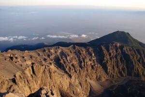 Mount Meru mountaintop