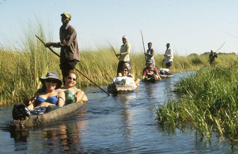 Okavango Delta Mokoros