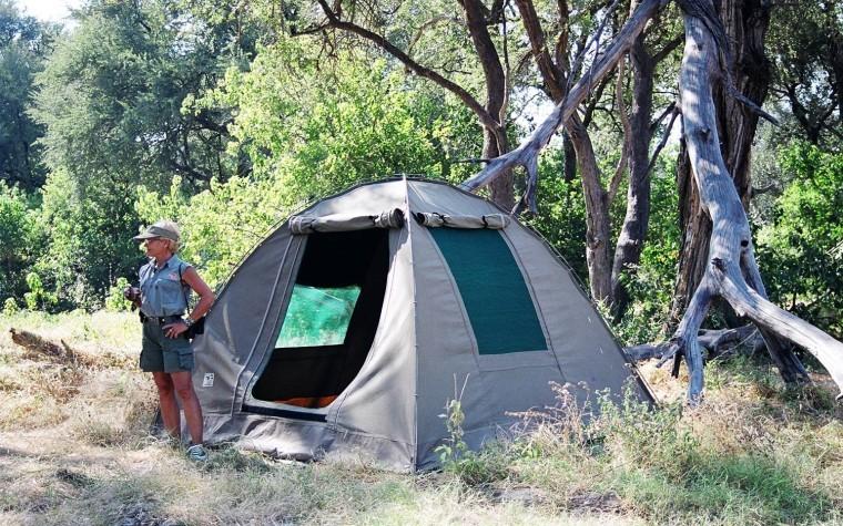 Camping-botswana