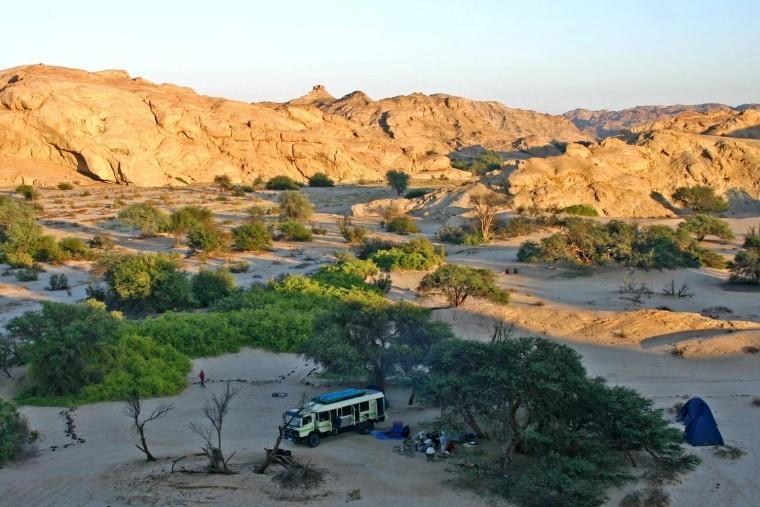 Namibia-camping